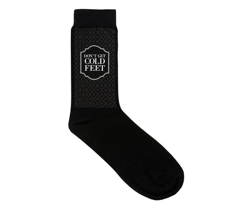 Cold Feet Groom Socks