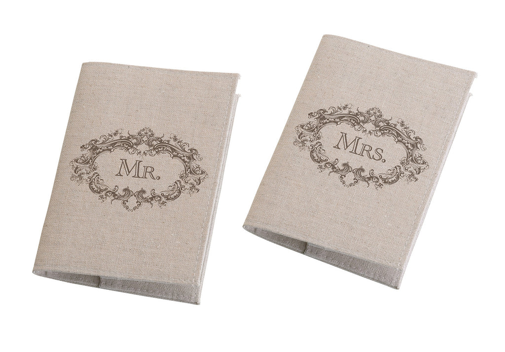 Mr. & Mrs. Tan Passport Covers