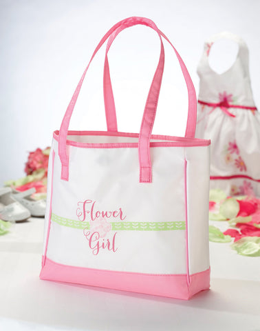 Flower Girl Keepsake Tote