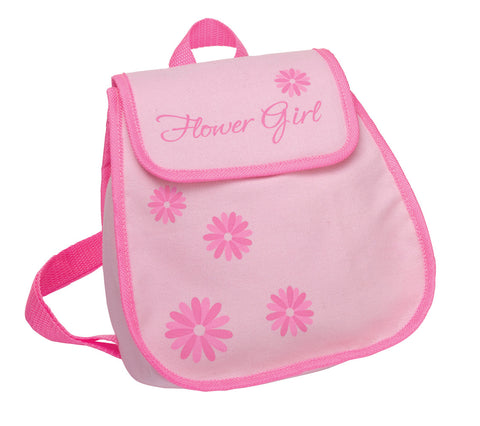 Flower Girl Keepsake Backpack