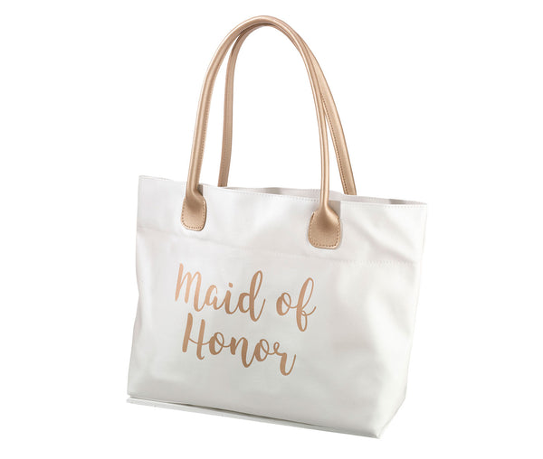 Gold Bridal Party Tote Bag