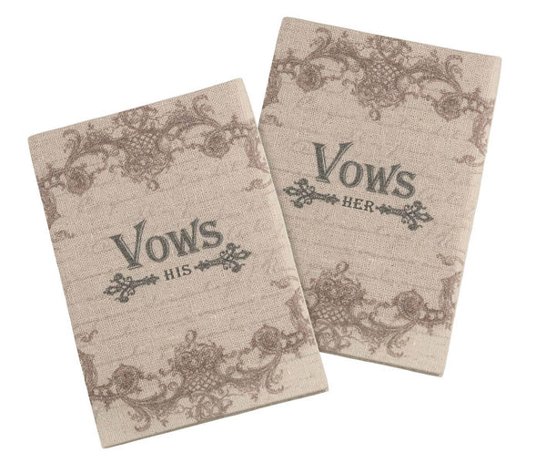 Tan His & Her Vows Books