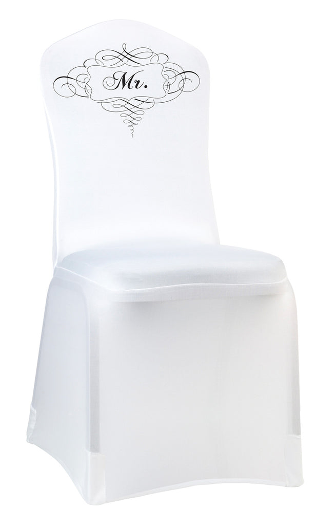Mr. & Mrs. Chair Cover