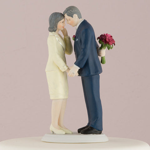 Still in Love Mature Wedding or Anniversary Cake Top