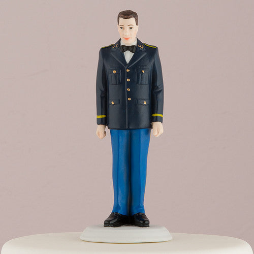 Mix & Match US Army Groom Wedding Cake Top