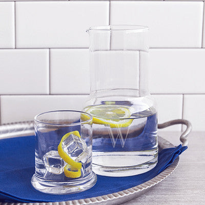 Bedside Water Carafe & Glass Set