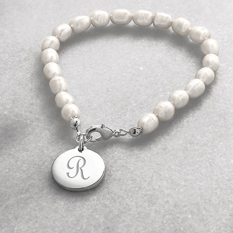 bridesmaid gift - personalized bracelet