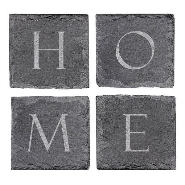 Slate CoasterSet (Set of 4)