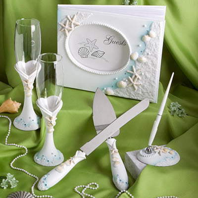 Beach Theme Wedding Accessories Collection