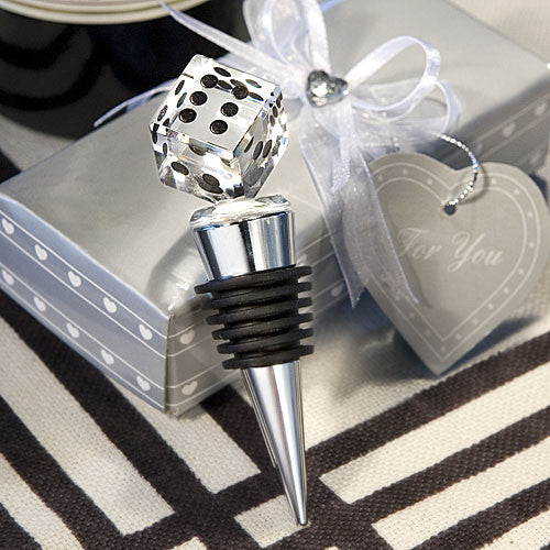 Choice Crystal Die Design Bottle Stopper Favor
