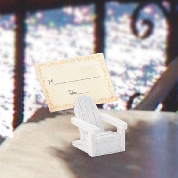 Adirondack Chair Wedding Place Card Holder