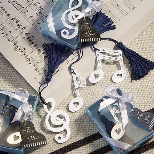Musical Note Bookmark Favor