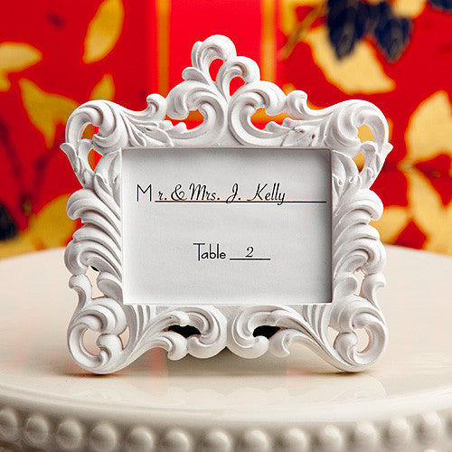 Baroque Style Place Card Frame