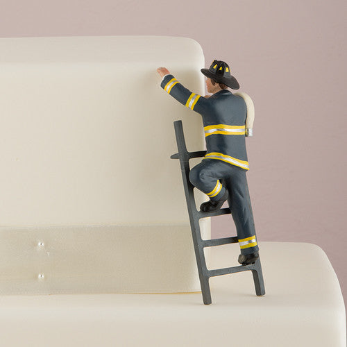 fire fighter wedding cake top