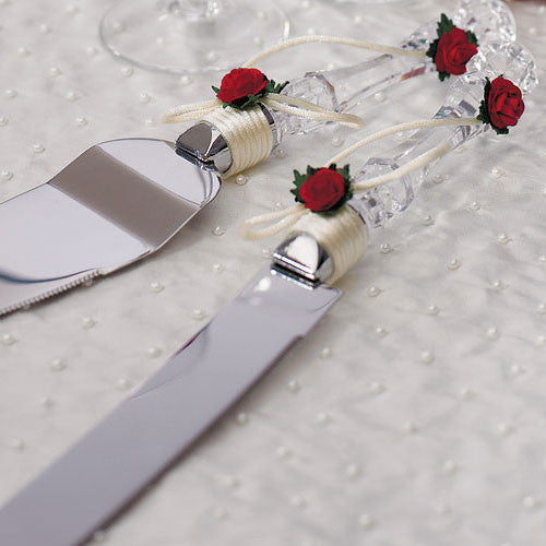 Flower of Love Wedding Serving Set