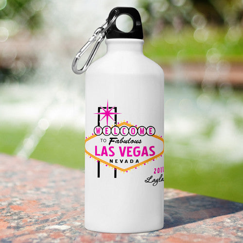 Gals Las Vegas Water Bottle