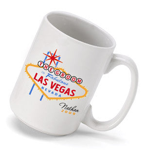Vegas Wedding Party Coffee Mug