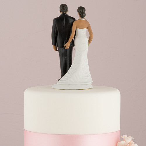 Love Pinch Wedding Cake Top