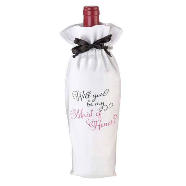 Maid of Honor Gift Wine Bag