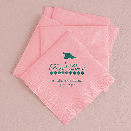 Golf Printed Napkins