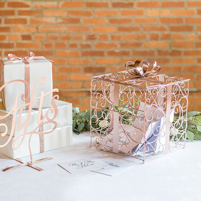 Perfectly Presented Wedding Gift Card Box (5 colors)