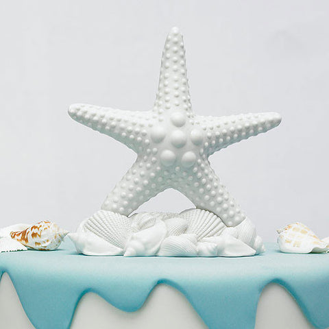 starfish wedding cake top