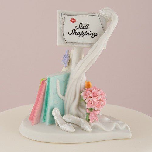 Mix & Match Still Shopping Wedding Cake Top