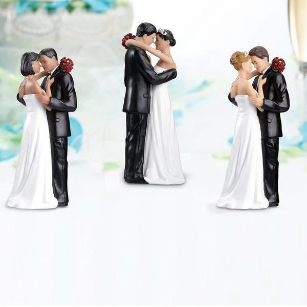 Tender Moment Wedding Cake Top