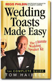 Wedding Toasts Made Easy
