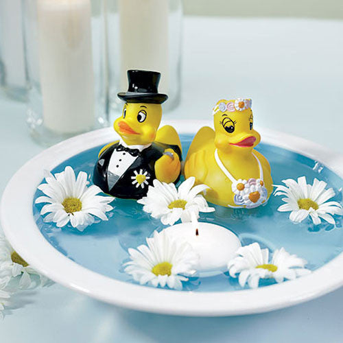 Bride & Groom Rubber Ducks