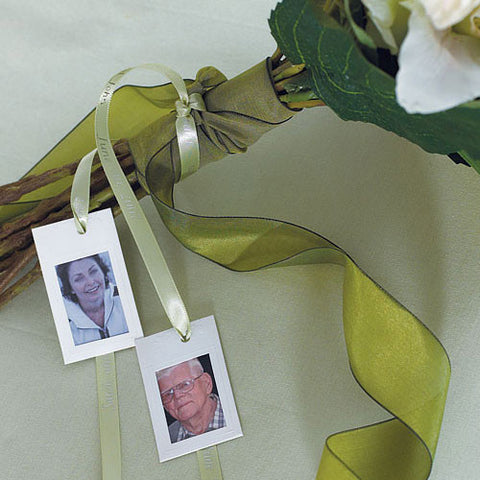 Miniature Embossed Paper Photo Frames