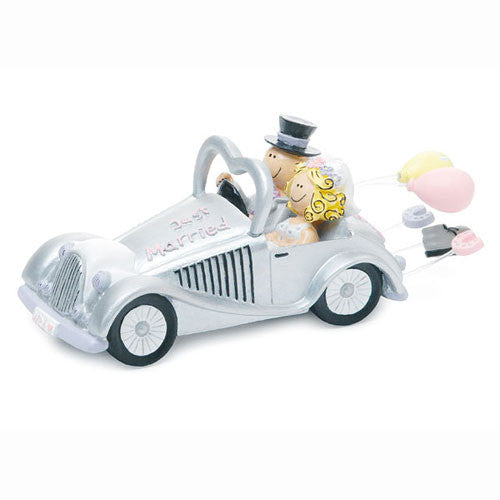 Get-a-way Car Wedding Cake Topper
