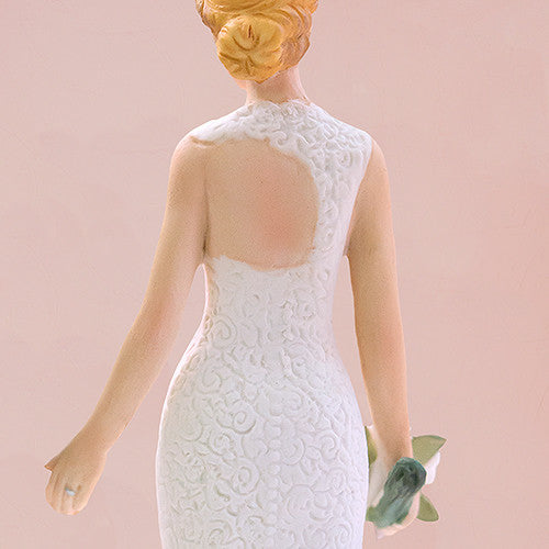 Woodland Bride & Groom Wedding Cake Topper