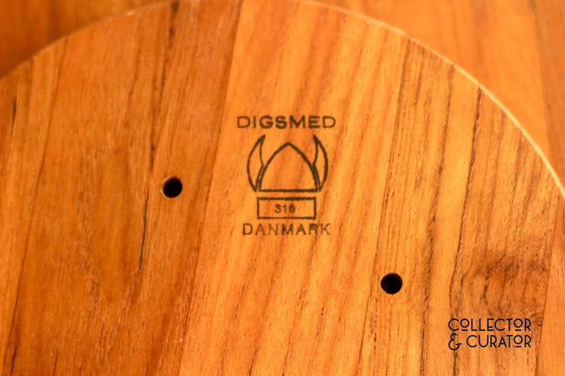 Digsmed Small Teak Lazy Susan - Collector & Curator