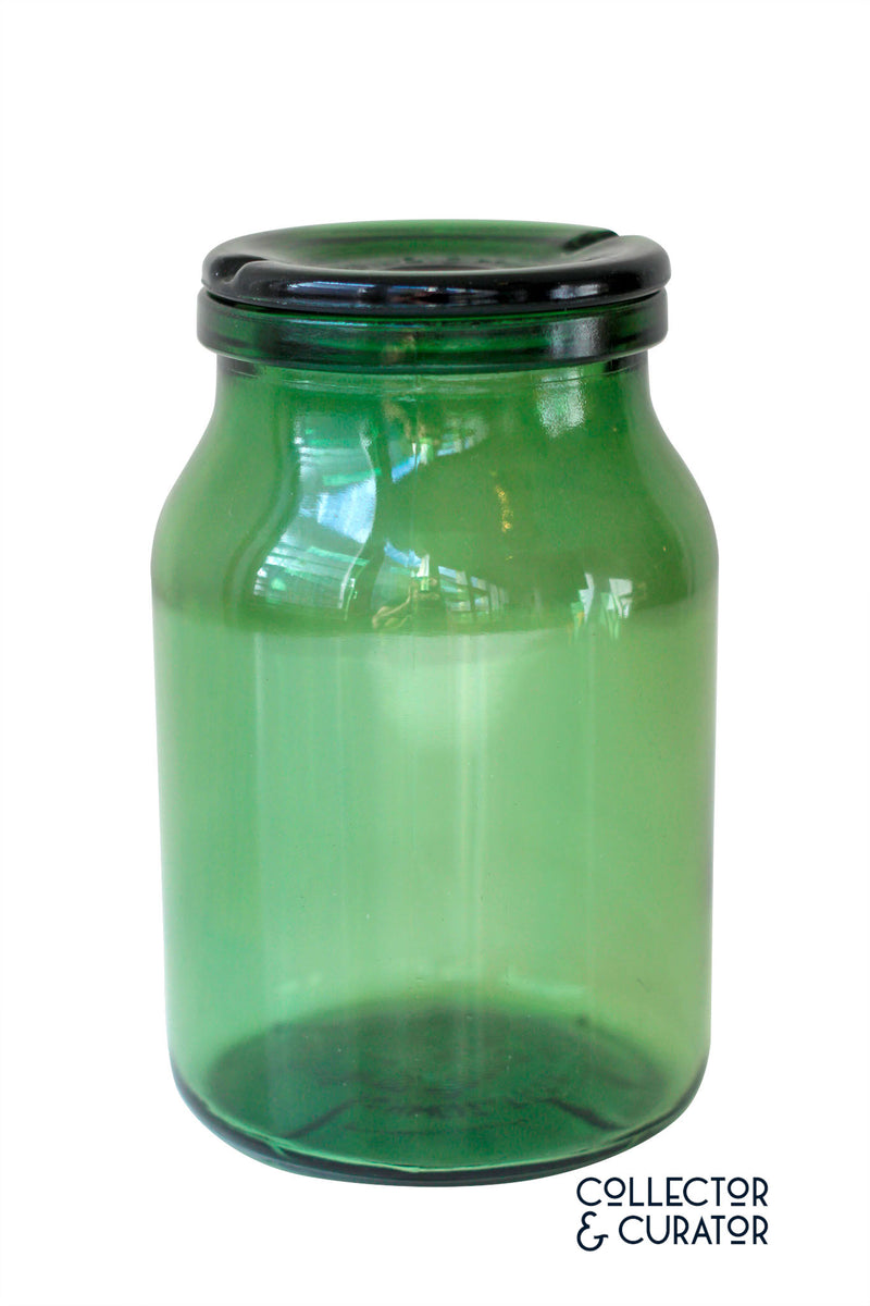 Bulach Green Glass Conserve Jar - Collector & Curator