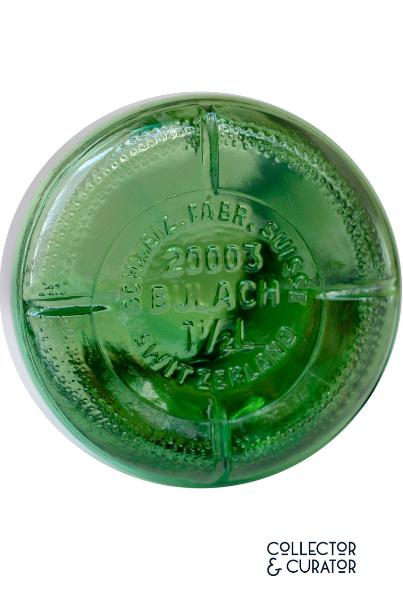 Bulach Green Glass Conserve Jar - Collector & Curator Bülach