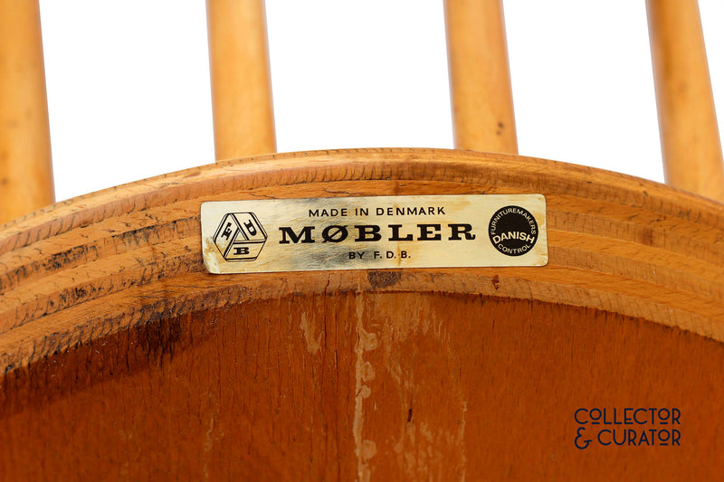 FDB Mobler J46 Chair by Poul Volther - Collector & Curator