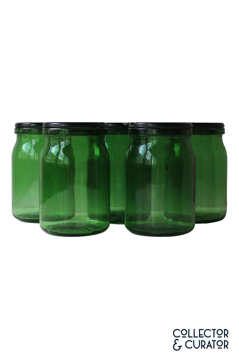Bulach Green Glass Conserve Bülach Jar