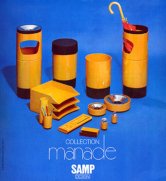 SAMP Design Collection Manade Umbrella Stand by Jean-Rene Talopp - Collector & Curator