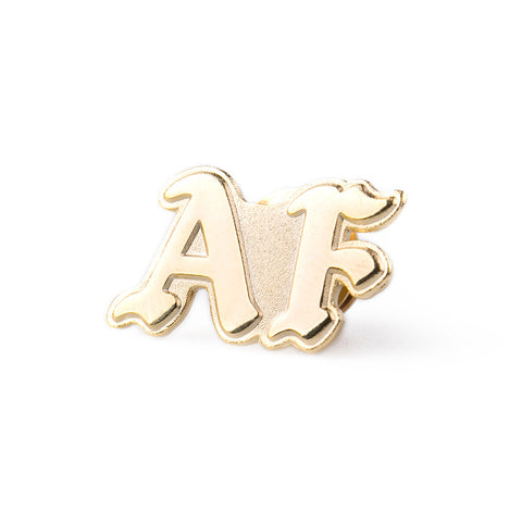amongst few - A.F Tribe Pin (Gold/Gold)