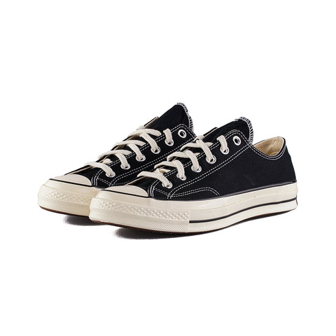 Converse - Chuck 70 Low Top OX (Black/Black/Black/Egret)