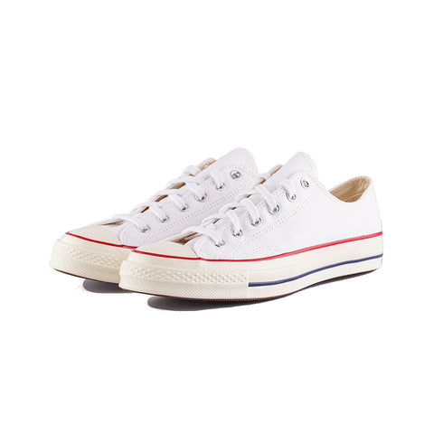 Converse - Chuck 70 Low Top OX (White/White/Garnet/Egret)