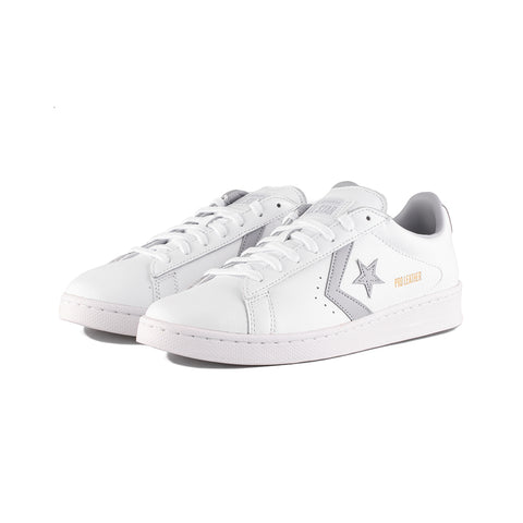 Converse - Pro Leather OX (White/Gravel/White)