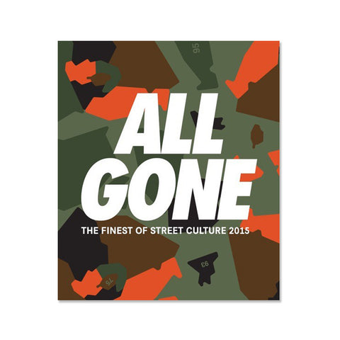 ALL GONE - The Finest of Street Culture 2015 (IDF Camo Green)