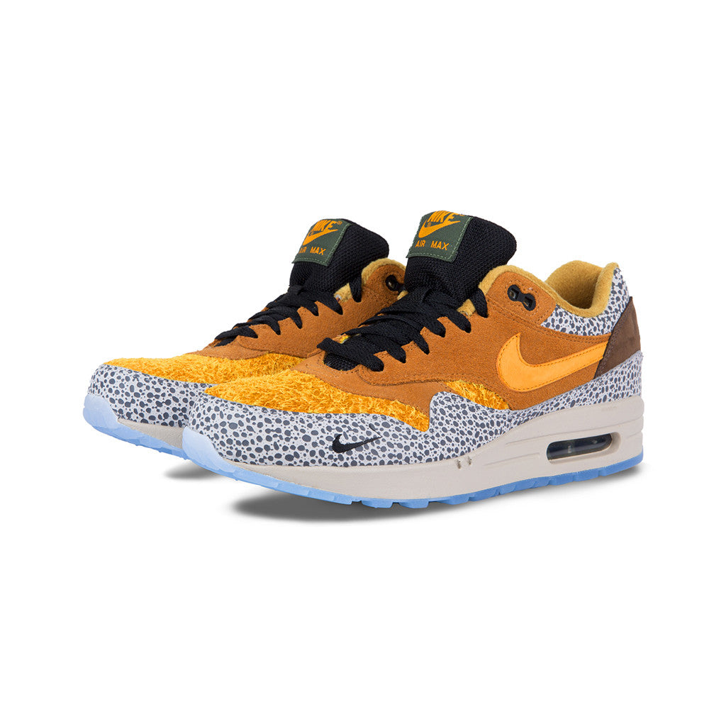 a773a4c6b7bf Nike - Air Max 1 Premium QS  Safari  (Flax Kumquat-Chestnut) – amongst few