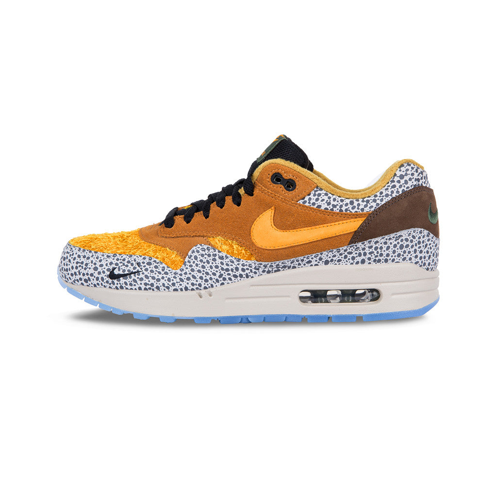 timeless design c90c0 cc5e6 ... Nike - Air Max 1 Premium QS  Safari  (Flax Kumquat-Chestnut. 1
