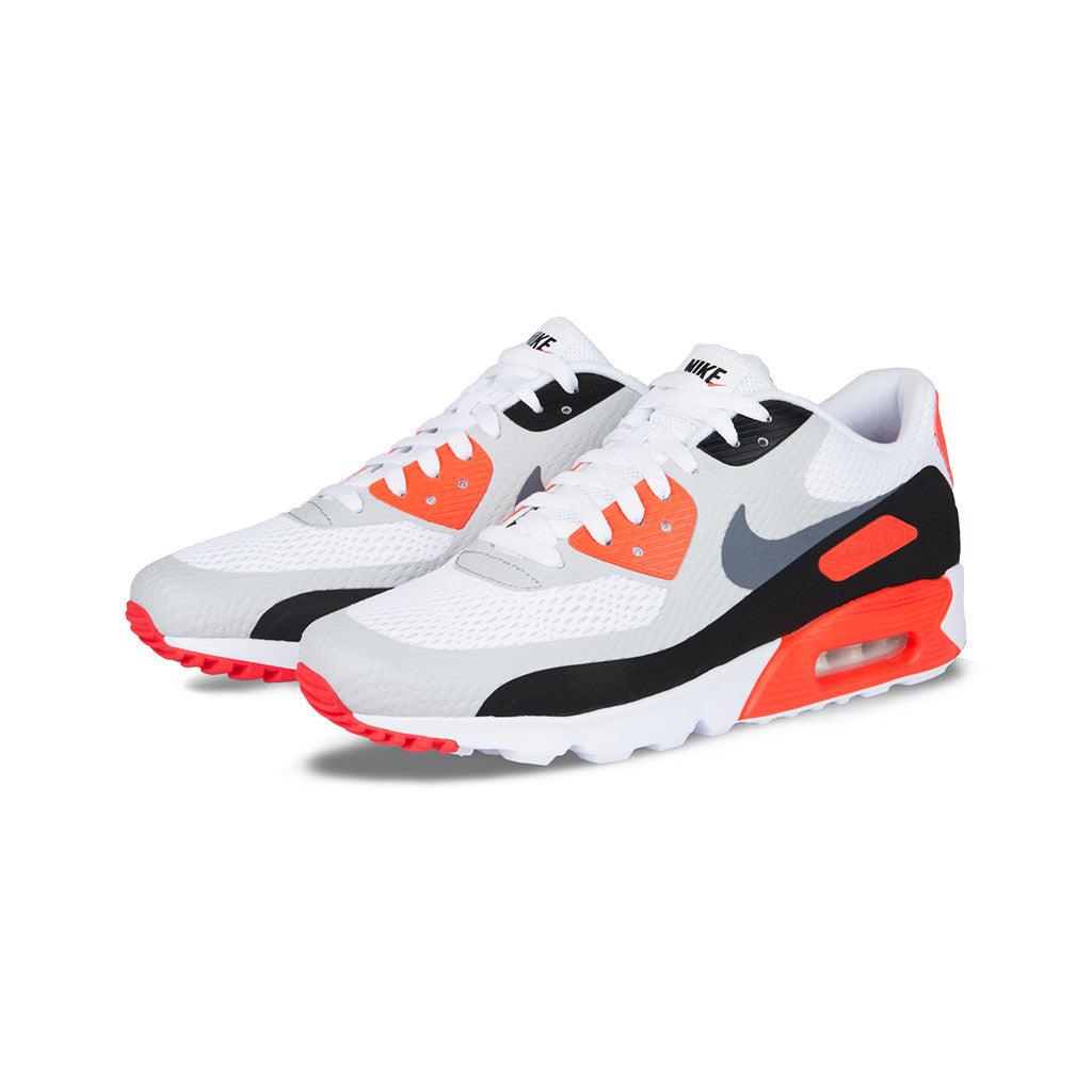 a5f3962bf4 Nike - Air Max 90 Ultra Essential (White/Cool Grey-Infrared-Black) –  amongst few