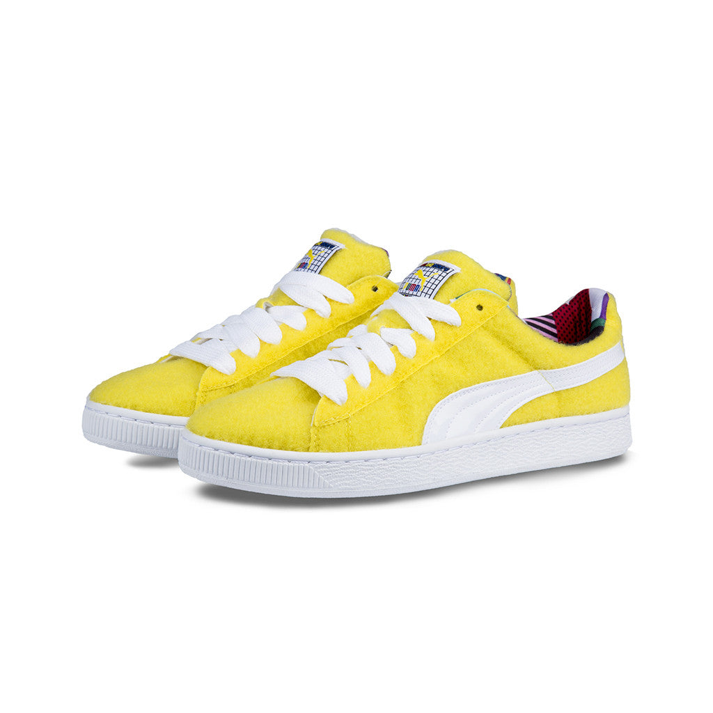 PUMA - Basket x Dee   Ricky CR (Vibrant Yellow-White) – amongst few 626e6fc7b
