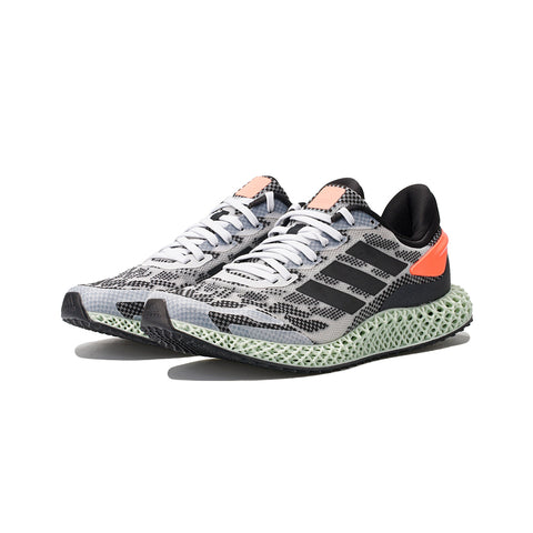 adidas - 4D Run 1.0 (Cloud White/Core Black/Signal Coral)