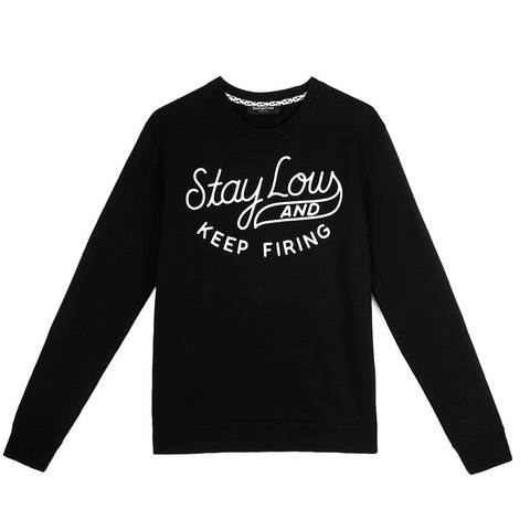 amongst few - Stay Low Sweater (Black)